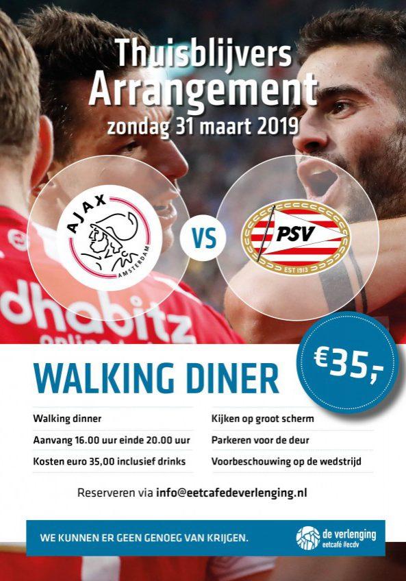 AJAX PSV Maart 2019